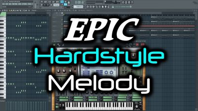 EPIC HARDSTYLE MELODY | Working on a New Euphoric Hardstyle Melody in FL Studio (Using Sylenth1)