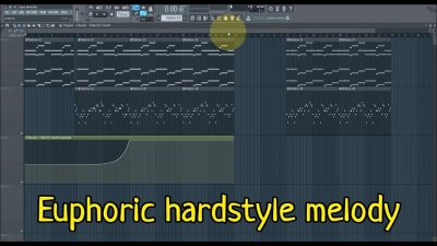 EUPHORIC HARDSTYLE MELODY | Euphoric Hardstyle Lead in FL Studio
