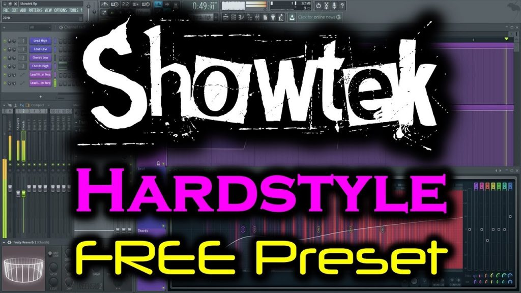 FL STUDIO HARDSTYLE PRESET FREE DOWNLOAD | Showtek Lead