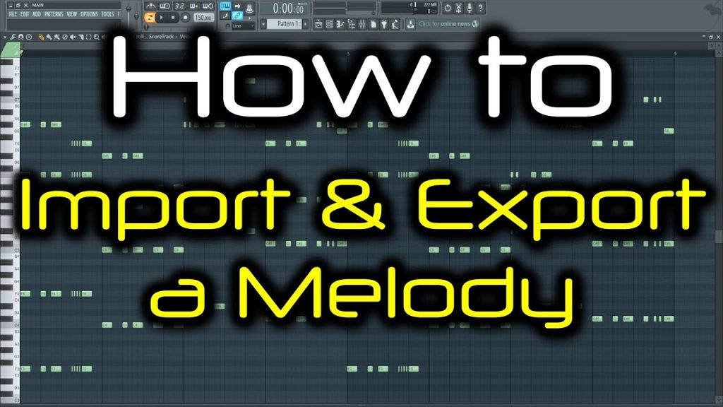 FL STUDIO PIANO ROLL TRICKS | How to Import & Export a