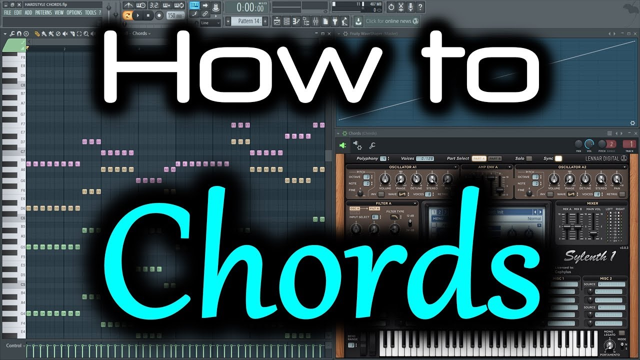 Hardstyle Chords  How To Make Chords In Fl Studio  Chord -5409