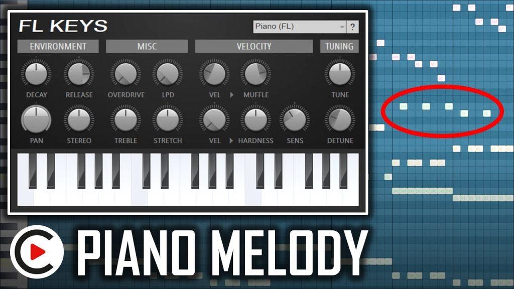 HARDSTYLE PIANO TUTORIAL   FL Studio Piano Melody Tutorial
