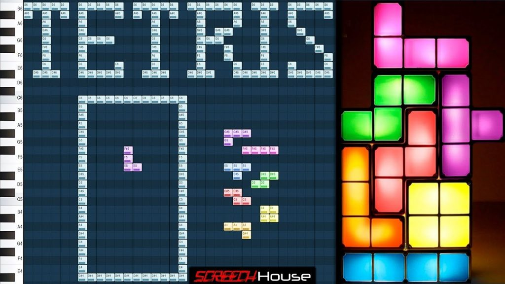 Playing Tetris Fl Studio How To Play Tetris On Piano