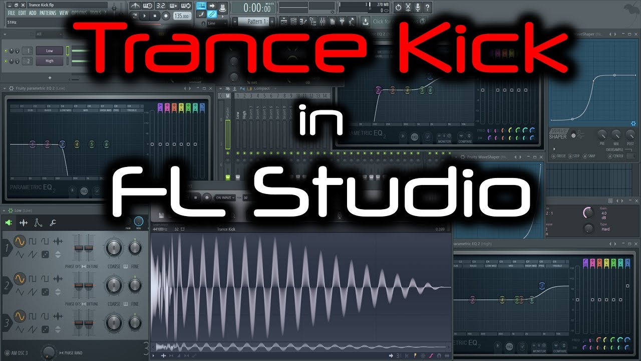 fl studio basic kick