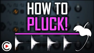 PLUCK TUTORIAL FL STUDIO | How to Make a Pluck in FL Studio (3xOsc Pluck Sound Design EDM & Trance)