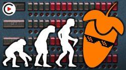 EVOLUTION OF FL STUDIO | History of FL Studio (Transformation Fruity Loops 1.0 to FL Studio 20)