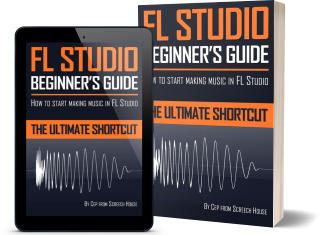 FL Studio Beginner's Guide Cover Mockup