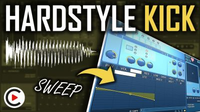 MODERN HARDSTYLE KICK EFFECT: How to Make a Filter Sweep (FL Studio Hardstyle Kick Sound Design)