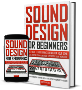 Sound Design for Beginners Cover Mockup