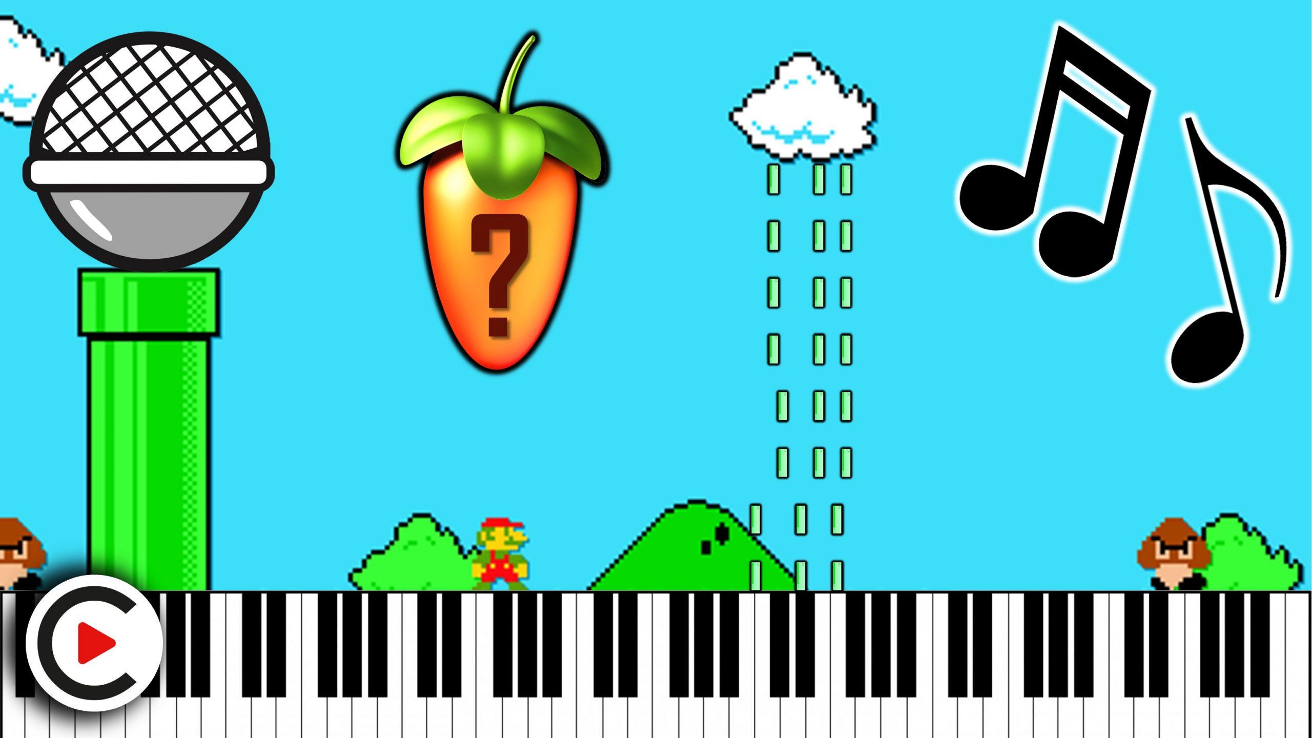 This Is How To Make Retro Game Music Nintendo 8 Bit Video Game Music Tutorial Fl Studio Nes Vst Screech House
