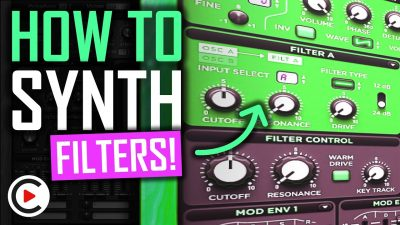 SYNTHESIZER EXPLAINED: HOW TO USE FILTERS | Sound Design for Beginners (Filter Tutorial)