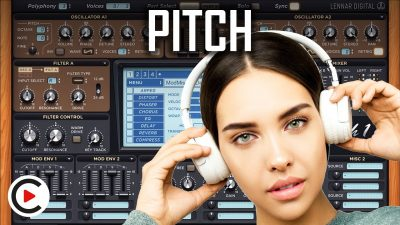HOW TO USE PITCH | Sound Wave Pitch and Frequency Synthesis (SYNTHESIZER FOR BEGINNERS LESSON 2)