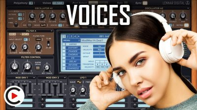 HOW TO USE VOICES | Synth Voices & Synth Unison Mode (SYNTHESIZER FOR BEGINNERS LESSON 4)