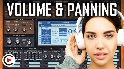 HOW TO USE VOLUME & PANNING | Sound Volume & Sound Panning (SYNTHESIZER FOR BEGINNERS LESSON 3)