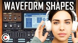 HOW TO USE WAVEFORMS | Synth Wave Shapes & Sound Wave Shapes (SYNTHESIZER FOR BEGINNERS LESSON 1)