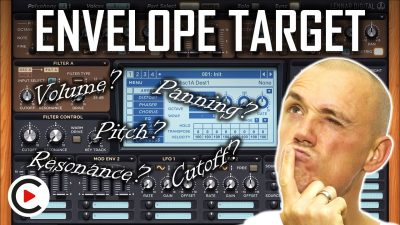HOW TO USE ENVELOPE TARGET | Envelopes Destination Type (SYNTHESIZER FOR BEGINNERS LESSON 14)