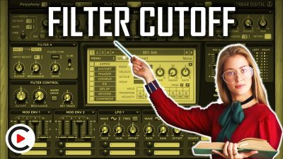 HOW TO USE FILTER CUTOFF | Frequency Filter Cut Off Point (SYNTHESIZER FOR BEGINNERS LESSON 12)
