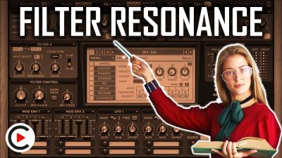 HOW TO USE FILTER RESONANCE | Frequency Bandwidth & Peak (SYNTHESIZER FOR BEGINNERS LESSON 13)