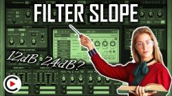 HOW TO USE FILTER SLOPE | 12 dB, 24 dB & 48 dB Filter Types (SYNTHESIZER FOR BEGINNERS LESSON 11)