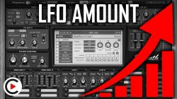 HOW TO USE LFO AMOUNT | LFOs Modulation Level & Gain (SYNTHESIZER FOR BEGINNERS LESSON 19)
