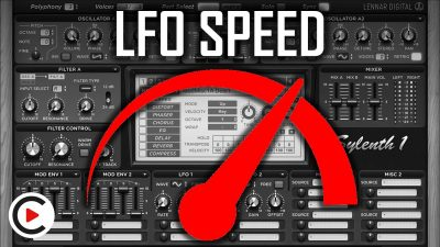 HOW TO USE LFO SPEED | Modulation Rate Fast & Slow Movement (SYNTHESIZER FOR BEGINNERS LESSON 20)