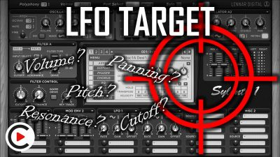 HOW TO USE LFO TARGET | LFOs Destination Type Explained (SYNTHESIZER FOR BEGINNERS LESSON 17)