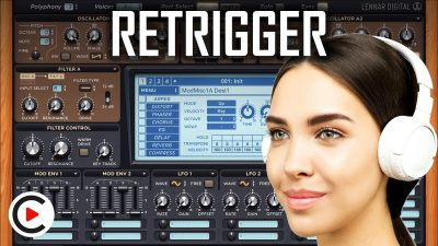 HOW TO USE PHASE RANDOMNESS & RETRIGGER | Phase Differences (SYNTHESIZER FOR BEGINNERS LESSON 9)