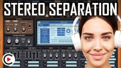 HOW TO USE STEREO SEPARATION | Stereo Spread Sound Effect (SYNTHESIZER FOR BEGINNERS LESSON 7)