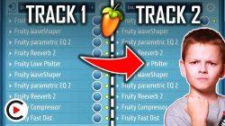 DUPLICATE MIXER TRACK FL STUDIO   How to Copy Mixer Effects in FL Studio (Clone Mixer Channel)