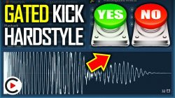 DO YOU WANT A HARDSTYLE GATED KICK TUTORIAL? YES/NO? (How to Make a Gated Reverb Kick in FL Studio)