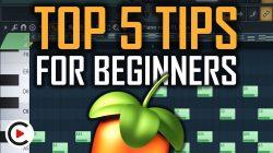 TOP 5 FL STUDIO TIPS FOR BEGINNERS | Best FL Studio Beginner Tips and Tricks (Workflow Shortcuts)