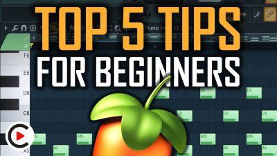 TOP 5 FL STUDIO TIPS FOR BEGINNERS   Best FL Studio Beginner Tips and Tricks (Workflow Shortcuts)